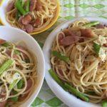 ガロファロスパゲッティーでペペロンチーノ☆コストコ食材・アレンジレシピ