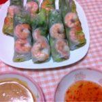 コストコの冷凍海老&ガカモレで、生春巻き☆コストコ・アレンジレシピ