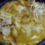 コストコの豚バラ肉と白菜で、辛味噌鍋☆アレンジ・レシピ