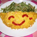 鮭と玉ねぎのオムレツ☆コストコ食材・アレンジレシピ