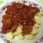 ベーコンたっぷりトマトソースのニョッキ☆コストコ食材・アレンジレシピ