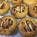 コストコのふっくらハンバーグで、ハンバーグパン☆食材アレンジ・レシピ