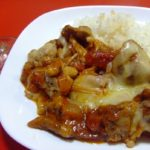 チキンのトマトチーズ煮☆コストコ食材・アレンジレシピ