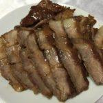 とんかつ用のお肉で簡単煮豚☆