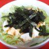 韓国海苔と豆腐のサラダ ☆コストコ食材・アレンジレシピ