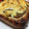 残りカレーとチーズ・マヨでがっつりトースト ☆コストコ食材・アレンジレシピ