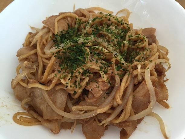 豚バラともやしのこってりマヨ焼きそば☆コストコ商品活用レシピ