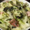 韓国海苔フレークを使った美味しいサラダ☆コストコ食材・アレンジレシピ