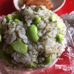 子供もやみつき☆枝豆と昆布のおにぎり☆コストコ食材アレンジレシピ