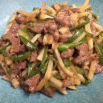 牛肉とじゃがいものチンジャオ風☆コストコ食材アレンジレシピ