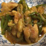 鶏もも肉とピーマンのカレーオイマヨ炒め ☆コストコ食材アレンジレシピ