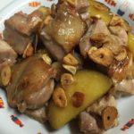 鶏肉とさつまいものガーリック炒め☆コストコ食材アレンジレシピ