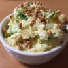 大豆のお肉ミンチでカリカリ!ポテトサラダ ☆コストコ食材アレンジレシピ