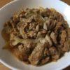 豚こま肉と新玉ねぎの甘辛マヨ炒め ☆コストコ食材アレンジレシピブログ